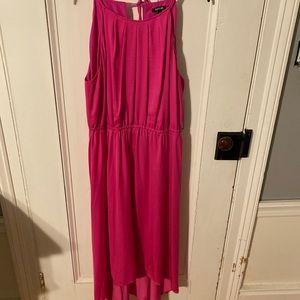 NWT - High Low Silk Dress